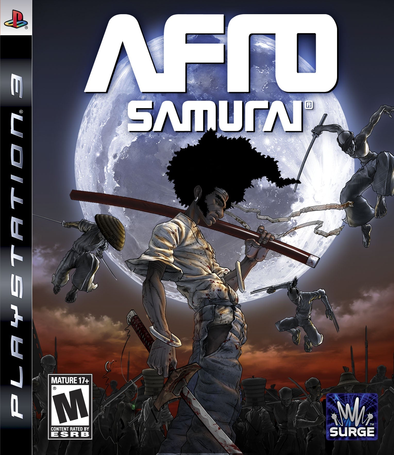 Afro Samurai - PS3 (Pre-owned)