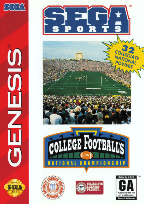 College Football's National Championship - Genesis (Pre-owned)