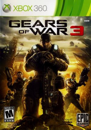 Gears of War 3 - Xbox 360 (Pre-owned)
