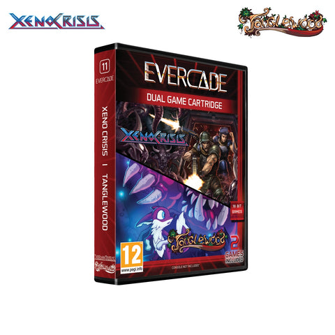 Evercade Xeno Crisis/Tanglewood Dual Game Cartridge