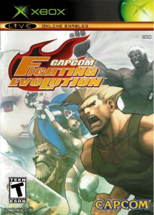 Capcom Fighting Evolution - Xbox (Pre-owned)