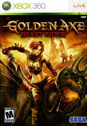 Golden Axe Beast Rider - Xbox 360 (Pre-owned)