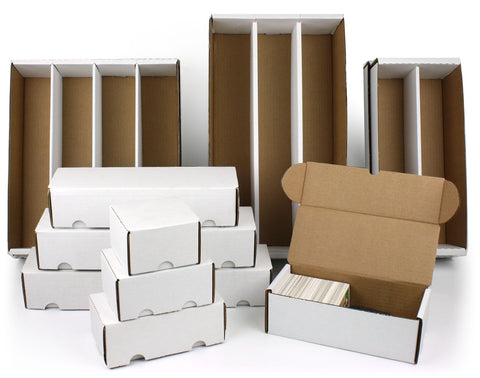 Trading Card Cardboard Storage Boxes (BCW Supplies)