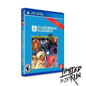 Atari Flashback Classics (Limited Run Games) - PS Vita
