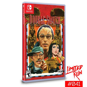 Double Switch: 25th Anniversary Edition (Limited Run Games) - Switch
