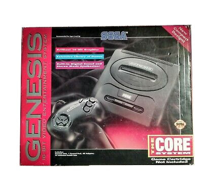Sega Genesis Model 2 Slim Core System Console in Box