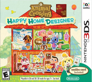 Animal Crossing Happy Home Designer - 3DS (Pre-owned)