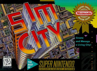 SimCity - SNES (Pre-owned)