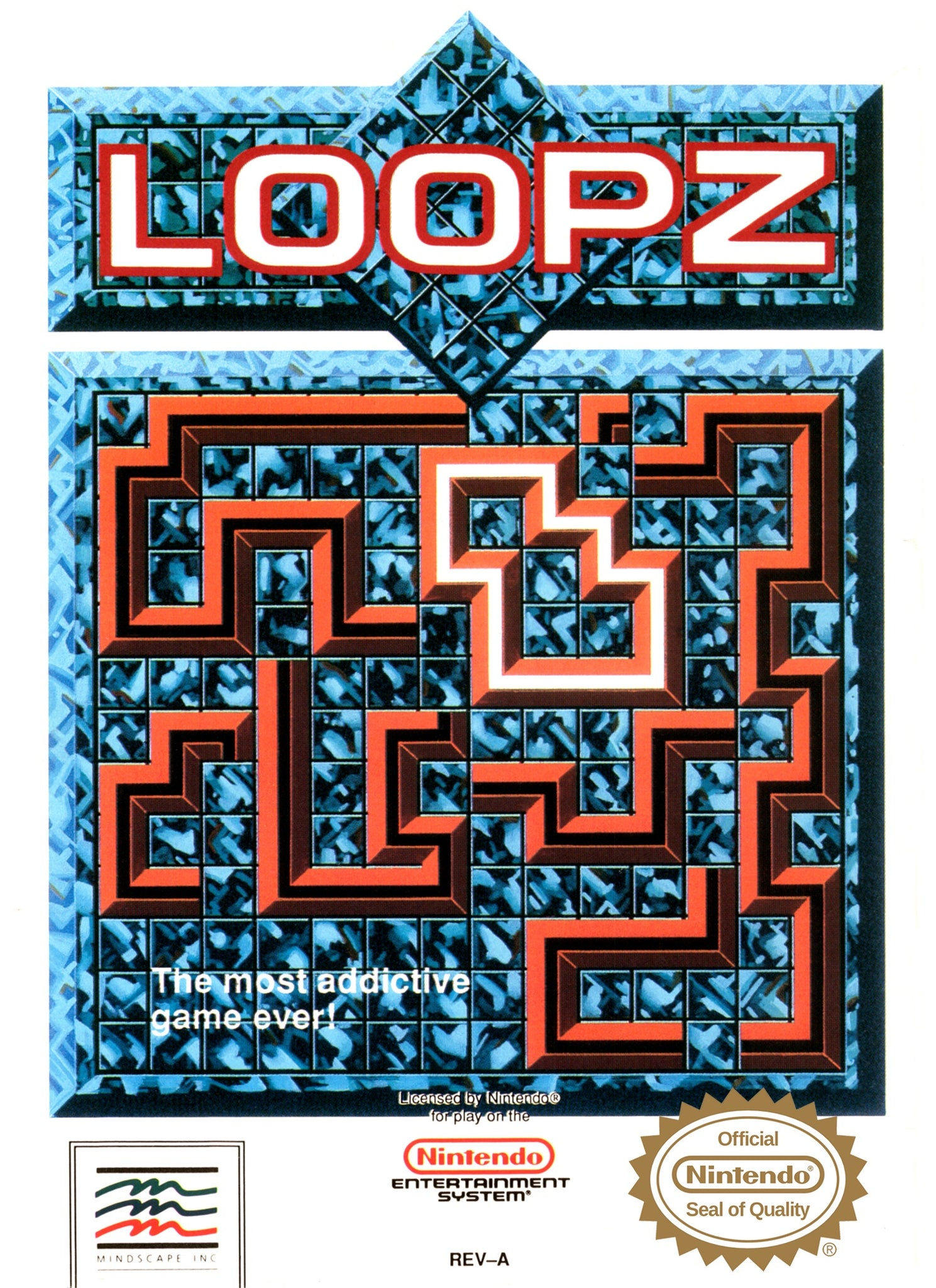 Loopz - NES (Pre-owned)