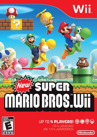 New Super Mario Bros. Wii - Wii (Pre-owned)