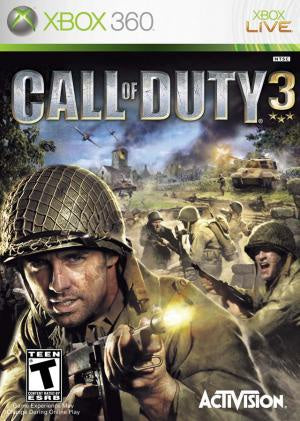 Call of Duty 3 - Xbox 360 (Pre-owned)