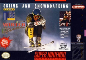 Skiing & Snowboarding: Tommy Moe's Winter Extreme - SNES (Pre-owned)
