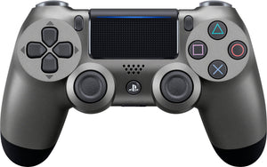 (Front Lit) Playstation 4 Dualshock 4 Wireless Controller PS4 (Steel Black)