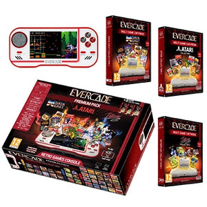 Evercade Premium Pack (Includes 3 Cartridges Collections: Atari Volume 1, Interplay Volume 1