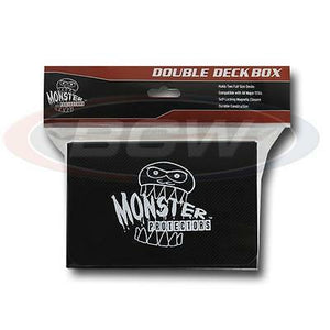 Monster Protectors: Double Deck Box - Matte Black