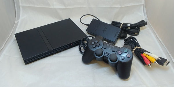 Playstation 2 Black Slim PS2 System Console