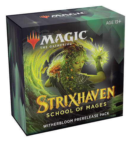MTG Strixhaven: School of Mages Prerelease Pack Kit with 2 Free Packs - Witherbloom