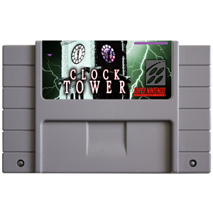 Clock Tower (Reproduction) - SNES (Pre-owned)
