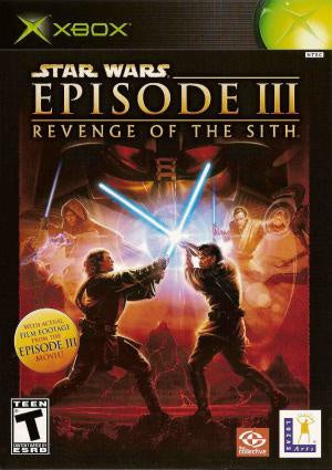 Star Wars Revenge of the Sith - Xbox (Pre-owned)