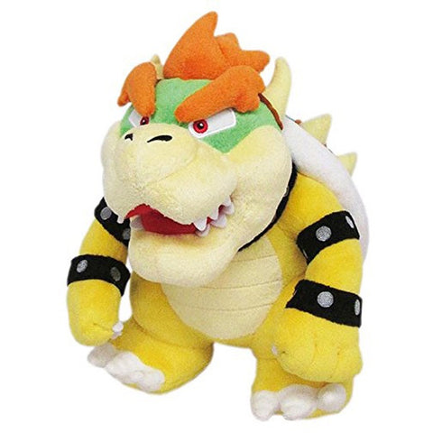 "BOWSER 10"" ALL STAR MARIO PLUSH TOY [LITTLE BUDDY]"
