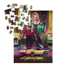 Cyberpunk 2077 Kitsch Puzzle (1000 Pieces) [Dark Horse Comics]