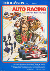 Auto Racing - Intellivision (Pre-owned)
