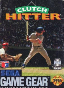 Clutch Hitter - Game Gear (Pre-owned)