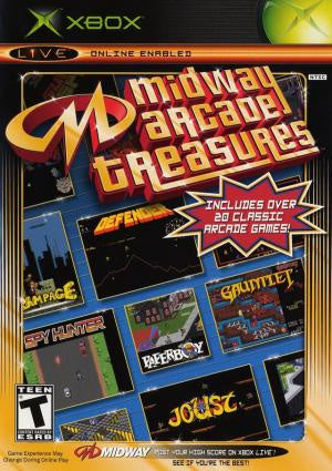 Midway Arcade Treasures - Xbox (Pre-owned)