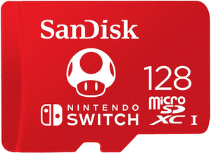 128 GB Nintendo Licensed  Micro SD Card For Nintendo Switch