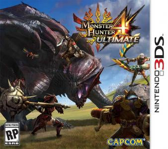 Monster Hunter 4 Ultimate - 3DS (Pre-owned)