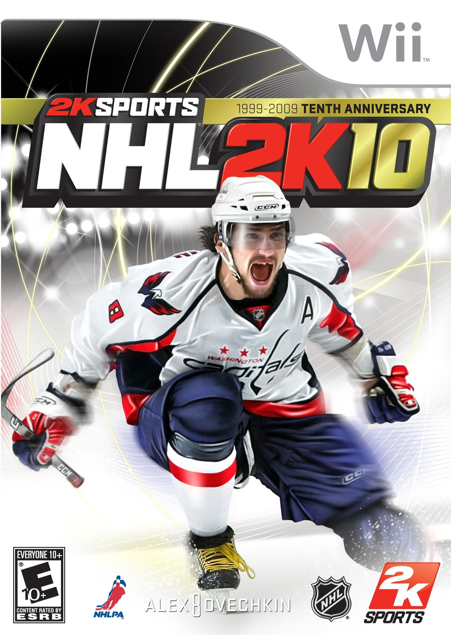 NHL 2K10 - Wii (Pre-owned)