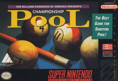 Championship Pool - SNES (Pre-owned)