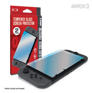Switch Tempered Glass Screen Protector (2-Pack) (Armor 3))(M07263) - NSW