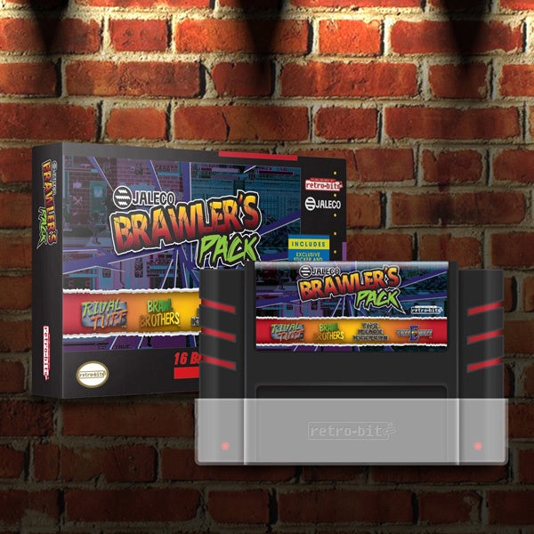 Jaleco Brawler's Pack (Rival Turf/Brawl Brothers/The Peace Keepers/Tuff E Nuff) - SNES