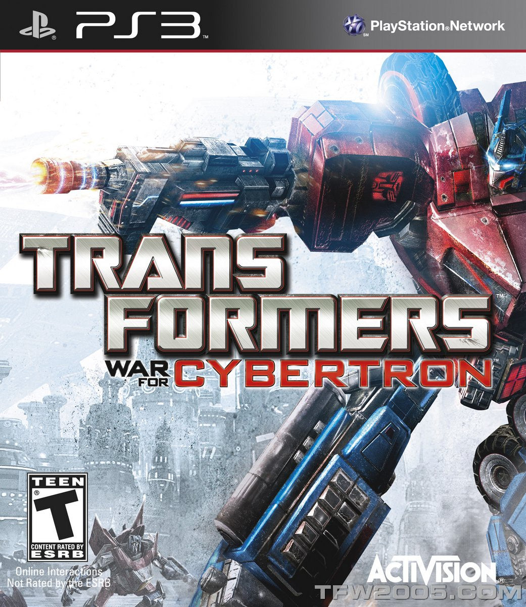 Transformers: War for Cybertron - PS3 (Pre-owned)