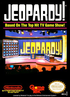 Jeopardy! - NES (Pre-owned)