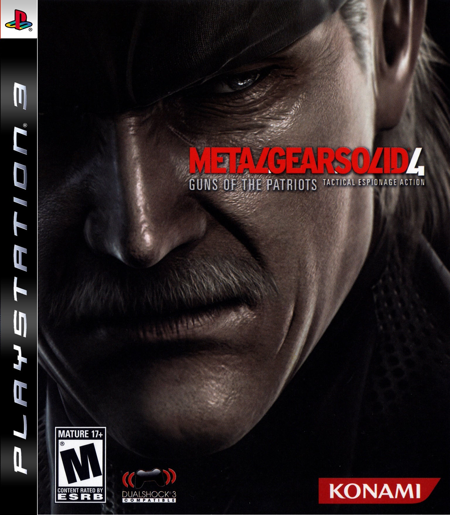 Metal Gear Solid 4 Guns of the Patriots - PS3 (Pre-owned)