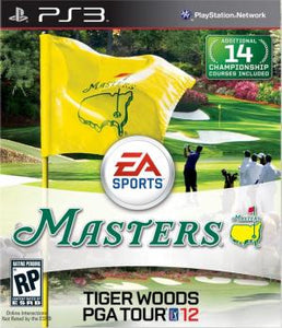 Tiger Woods PGA Tour 12: The Masters - PS3 (Pre-owned)