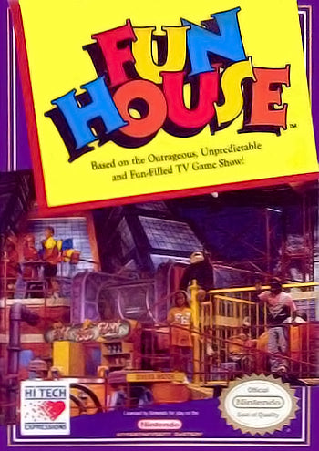 Fun House - NES (Pre-owned)