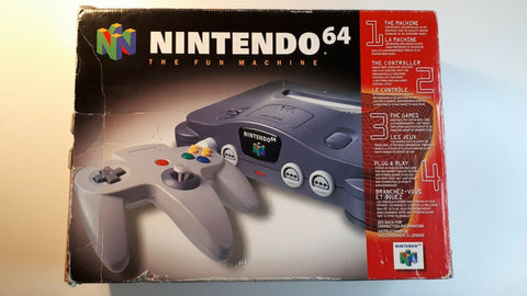 Nintendo 64 System Console Original N64 in Box