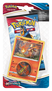 Pokemon Battle Styles - Checklane Blister Pack - Charmander (Pre-order)