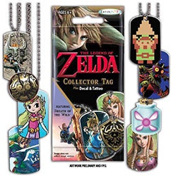 ZELDA COLLECTORS TAGS