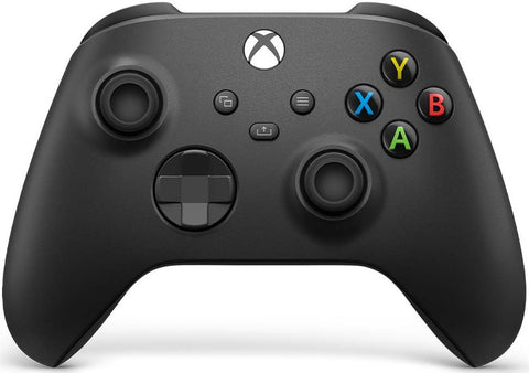 Xbox Wireless Controller (Carbon Black) - Xbox Series X/S/Xbox One/PC/Android/iOS Compatible