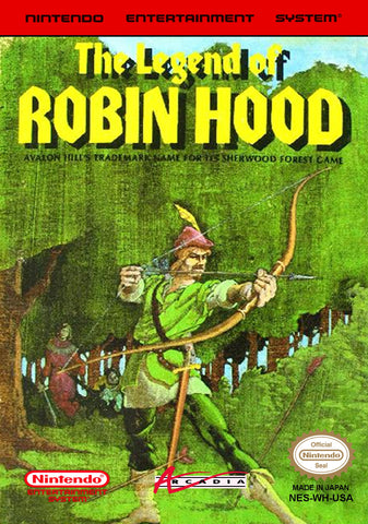 The Legend of Robin Hood (Reproduction) - NES (Pre-owned)