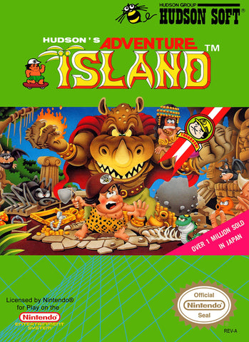 Adventure Island - NES (Pre-owned)
