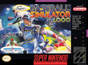 Baseball Simulator 1.000 - SNES (Pre-owned)