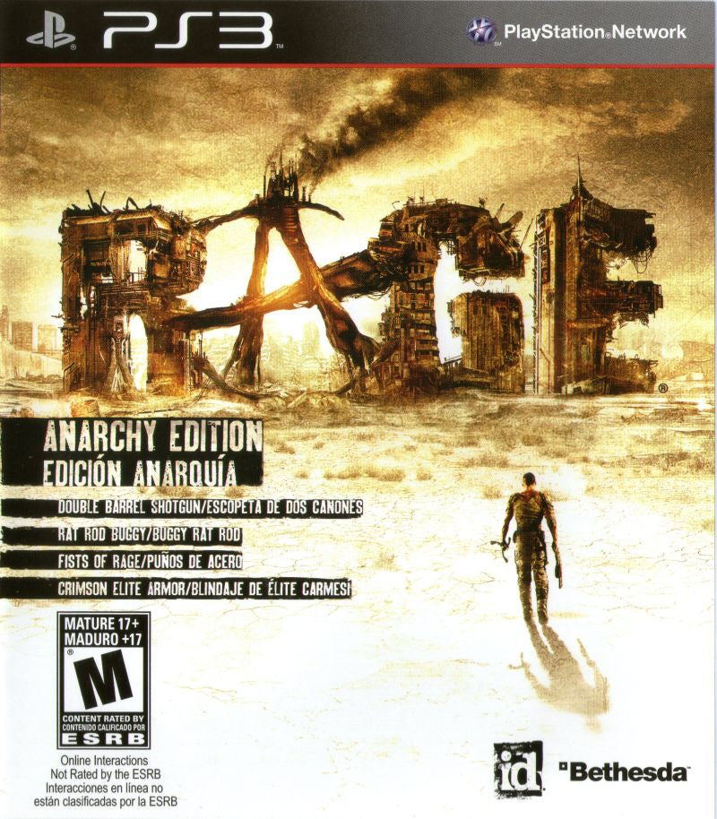 Rage Anarchy Edition - PS3 (Pre-owned)
