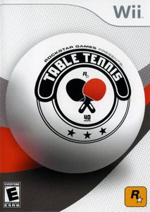 Rockstar Games Presents Table Tennis - Wii (Pre-owned)