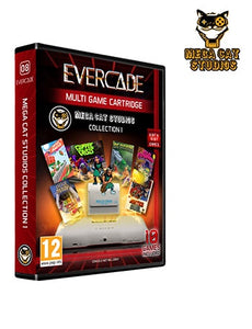 Evercade Mega Cat Studios Collection Cartridge Volume 1