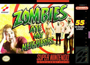 Zombies Ate My Neighbors - SNES (Pre-owned)